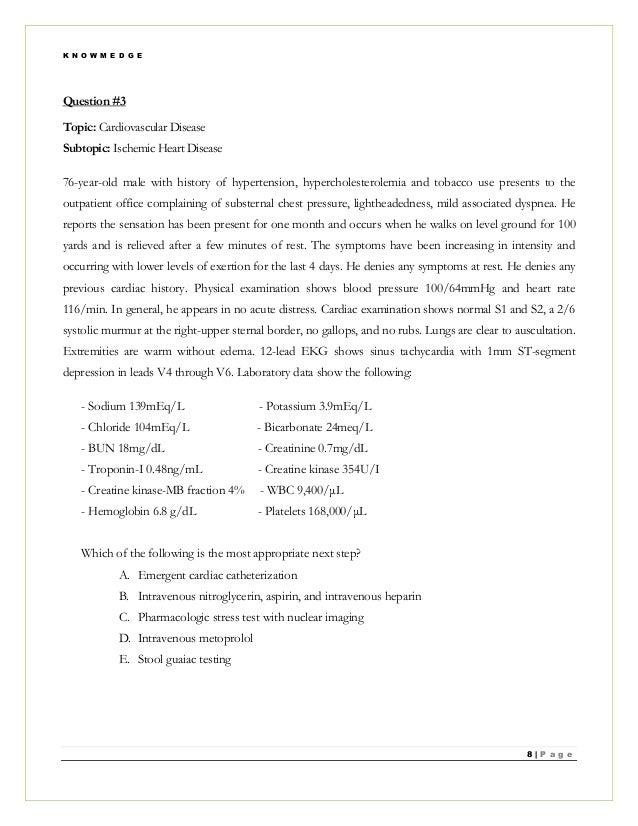 Nuclear Medicine Exam Questions