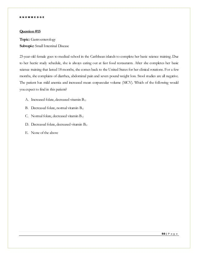 modified essay questions in family medicine The written modified essay question (meq) and key fea- tures exam these  involve  family medicine, internal medicine, neurology, emer.