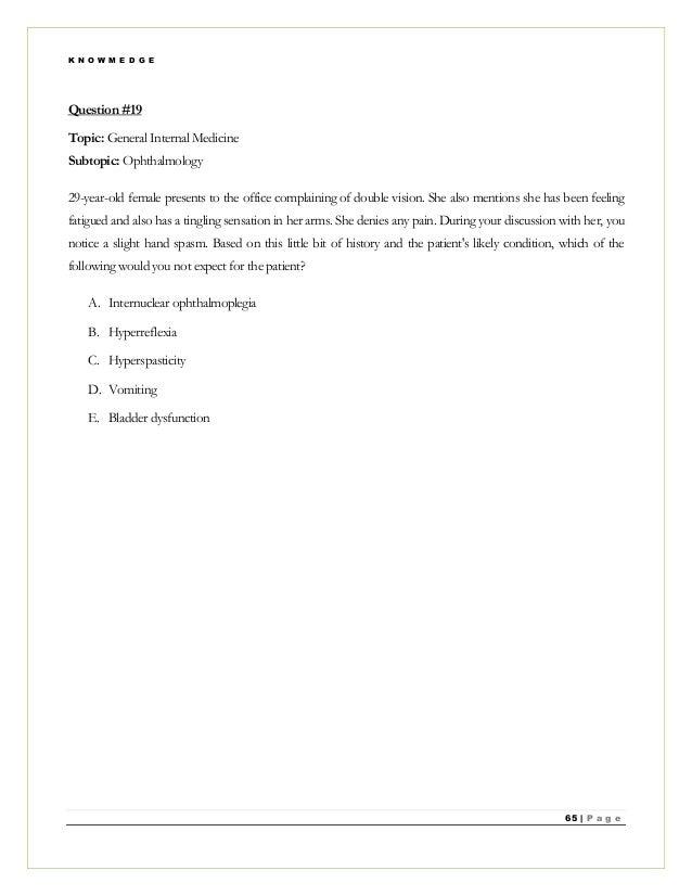 Nbme 19 Graft Rejection