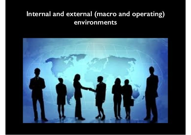 the remote industry and external operating environments An organization's external environment consists of outside factors that influence its operations these include competition, economic landscape, consumer tastes and trends, regulatory environment.