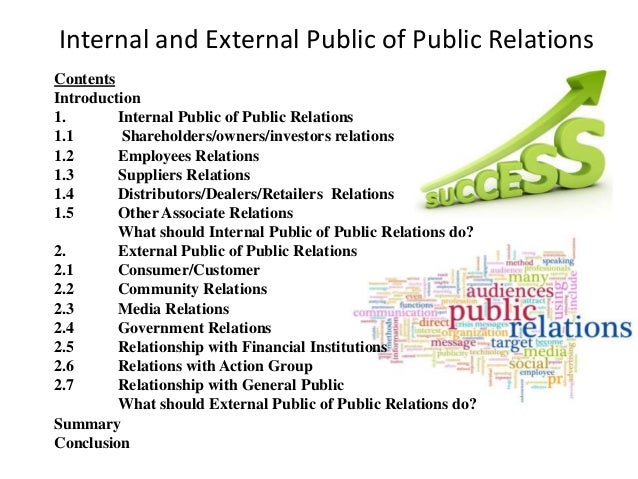 relationship between public relations and community