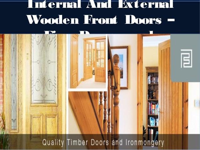 Internal and external wooden front doors – fine doors.co.uk