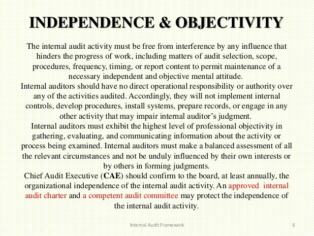 Auditor Independence – 2