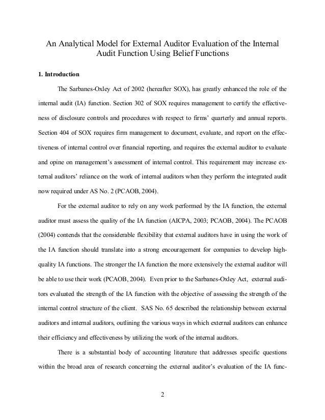 Internal Audit Jurnal