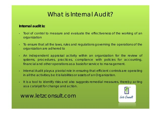 Internal audit ppt