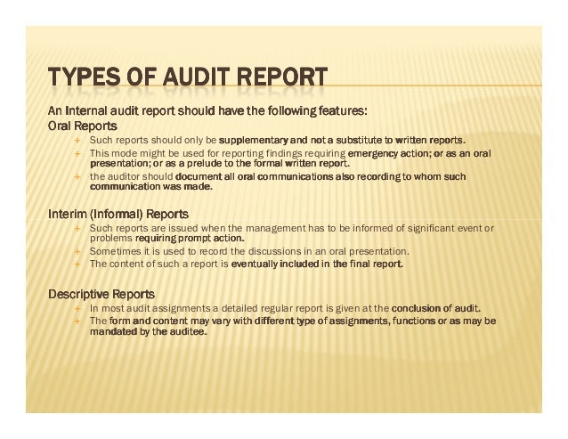 ... ReportSummary Audit Report; 9.