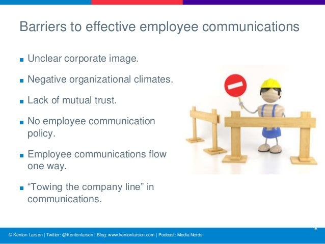 effective communication and employee morale transact Communication can make or break a company effective communication resolves  problems, unites workers and increases employee loyalty.