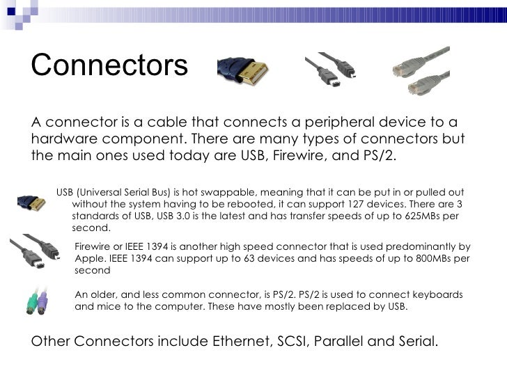 an introduction to peripheral devices An introduction to developing usb apps usb overview usb is a serial during enumeration the host supplies a device address to the peripheral.