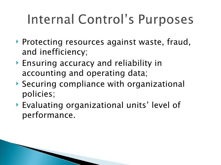 """the importance of internal controls essay All executives are taught the importance of """"internal controls"""" unfortunately, many executives don't fully understand what is meant by the term """"internal controls""""."""