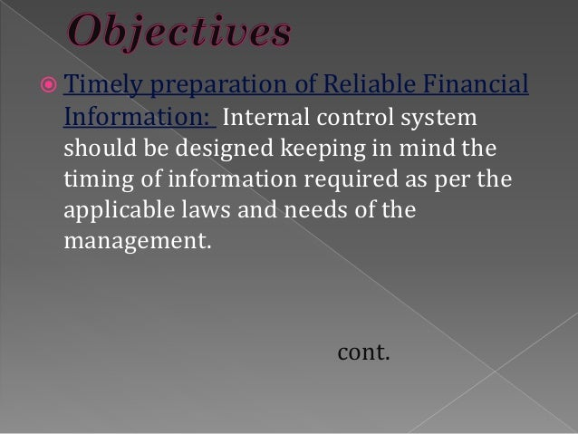 internal control accouting system International journal of advanced computer technology (ijact) issn:2319-7900 1 the usage of accounting information systems for effective internal controls in the.