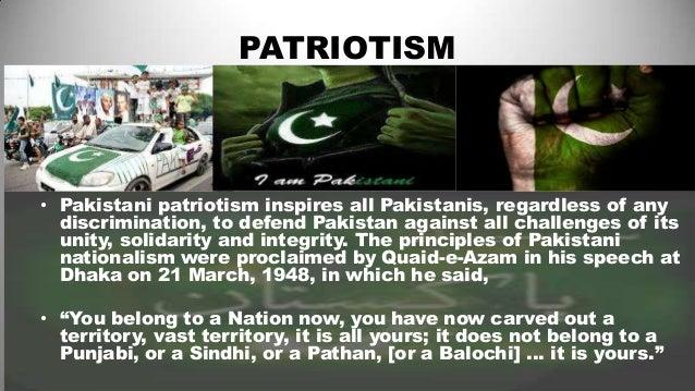Short essay on Importance of Patriotism