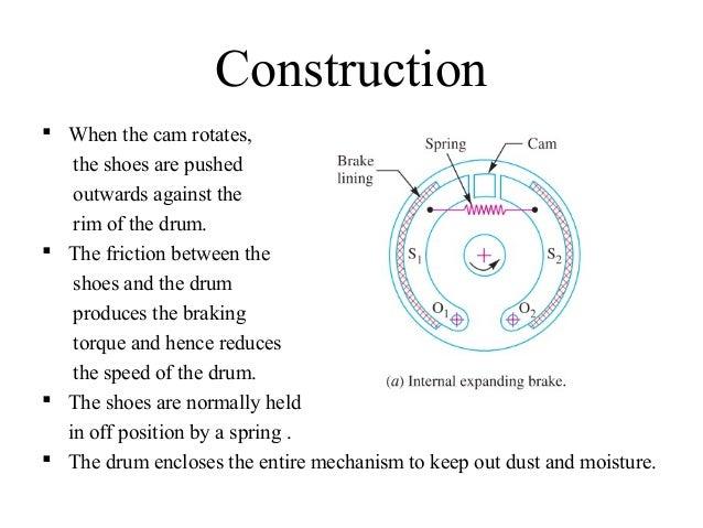 Internal expanding shoe brake short presentation