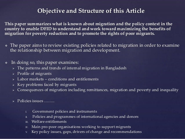 thesis on internal migration
