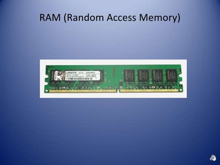 A study on random access memory and internal hard drives