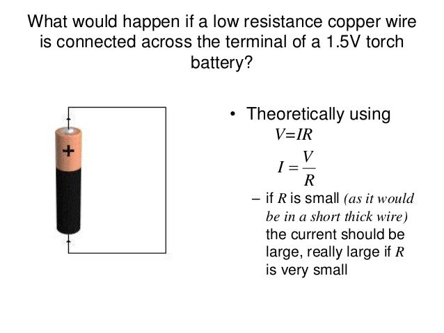 how to find internal resistance of a battery