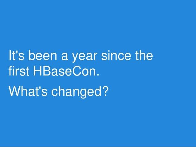 HBaseCon 2013: 1500 JIRAs in 20 Minutes Slide 2