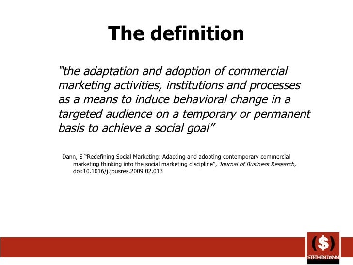 internal marketing for orientation social services The production orientation focuses on internal efficiency to the marketing concept states that the social and economic or services e marketing.
