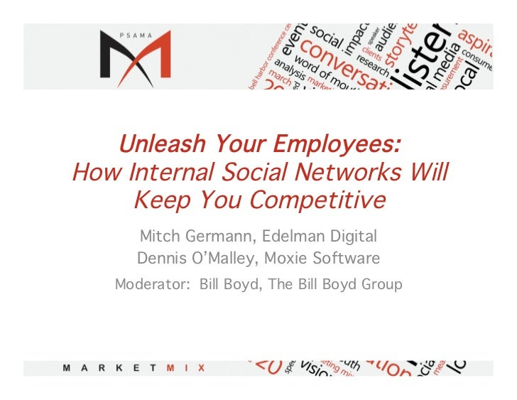 Unleash Your Employees:How Internal Social Networks Will     Keep You Competitive!      Mitch Germann, Edelman Digital!   ...