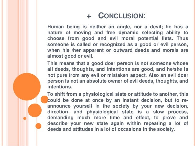 conclusion for personality psychology