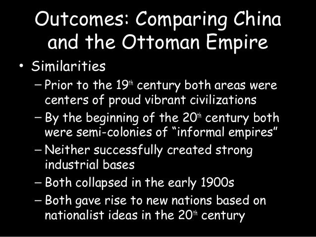 Ottoman empire and ming china