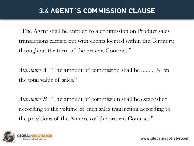 agent contract sample