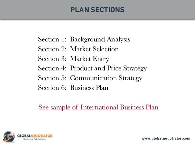 9 parts regarding your business plan