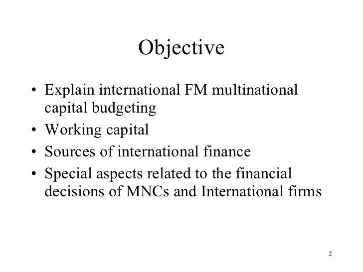 International Financial Managemnet Slide 2