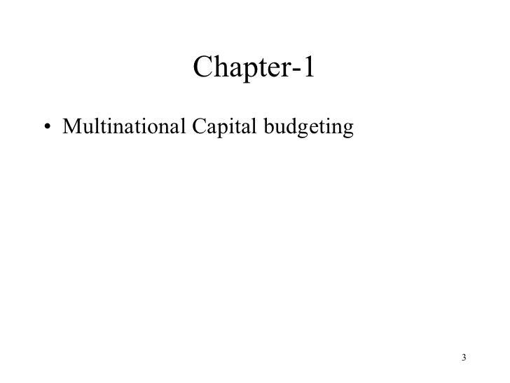 International Financial Managemnet Slide 3