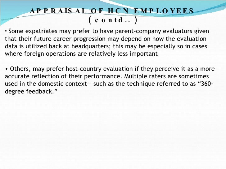 appraisal of hcn employees As of december 31, 2016, the pharmacy department had three full-time employees and one part-time employee salaries and benefits of other employees such as the hcn chief.