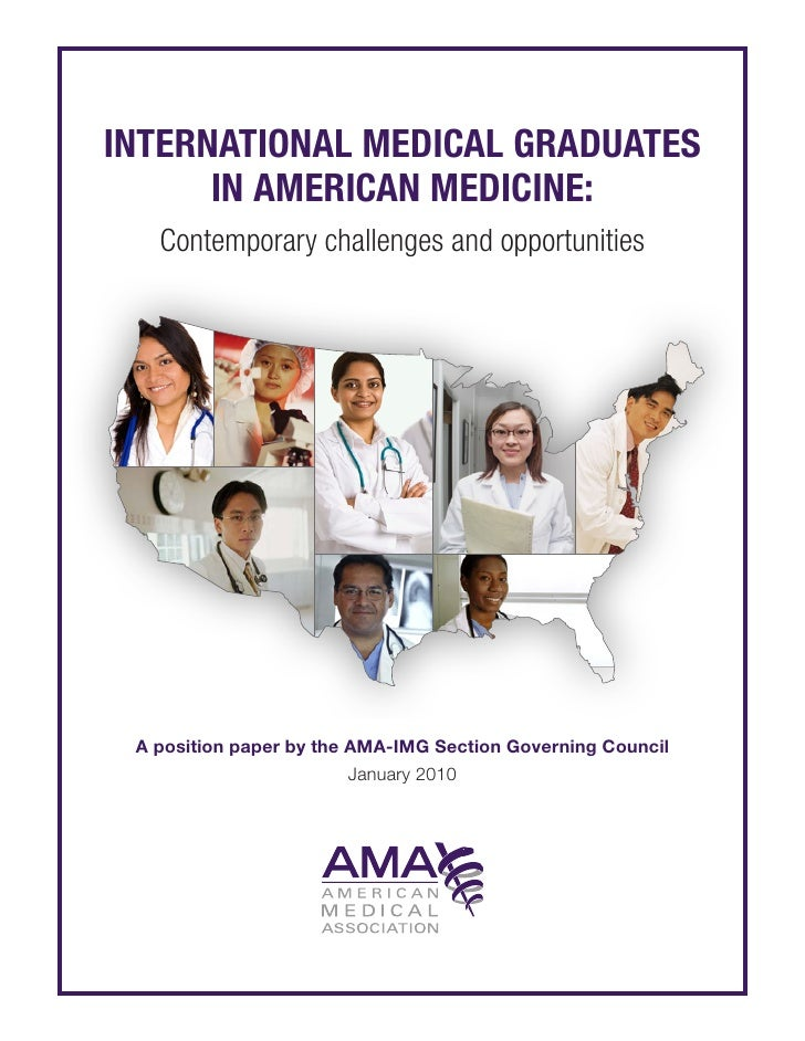 International medical graduates          in American medicine:               Contemporary challenges and opportunities    ...