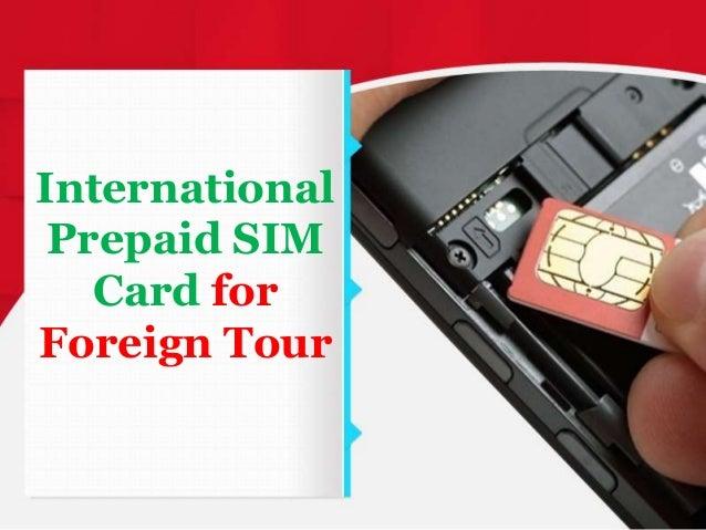 International Prepaid Cards