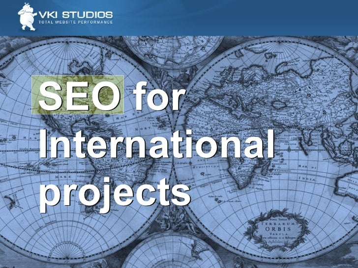 SEO for International projects SEO for International projects