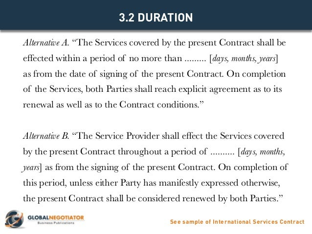 Services Contract Template - Apigram.Com