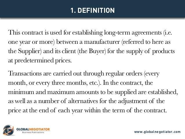 Model Contract Www.globalnegotiator.com; 2.