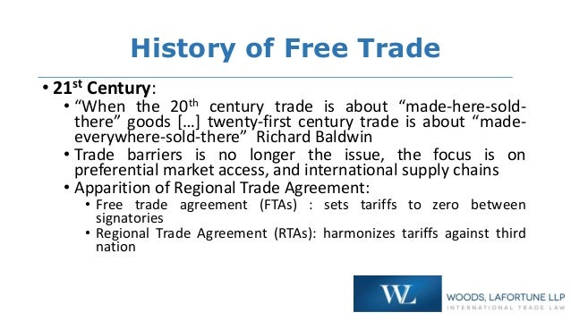 Free Trade Fair Trade From The 20th Century To 21st Century