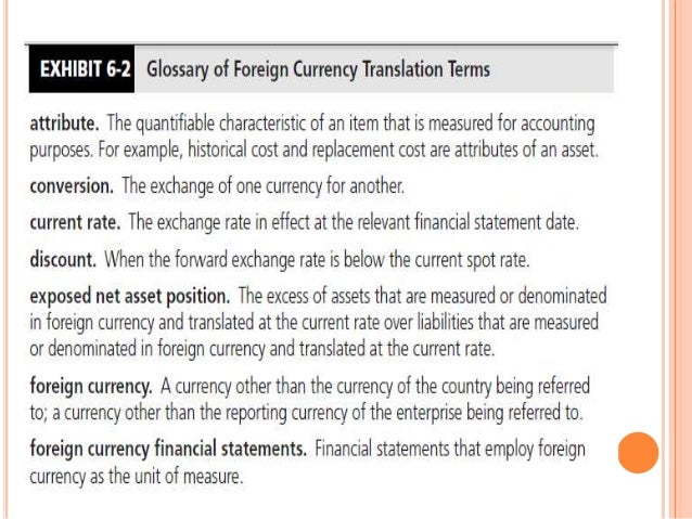 multinational consolidation and currency translation Preparation, translation and analytical issues: a critique  currencies arising  from the multinational relationship of mncs are to be  one of the tasks  associated with accounting for mncs is to prepare its consolidated financial  statements.