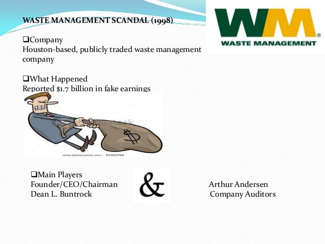 Waste Management Scandal