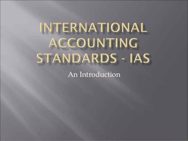 accounting standards introduction to accounting standards Students guide to accounting standards (including introduction of ind as) share students guide to accounting standards (including introduction of.