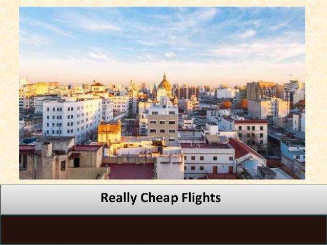 Really Cheap Flights