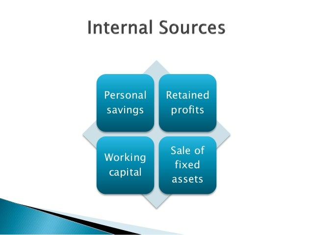 International and domestic source of finance - 웹