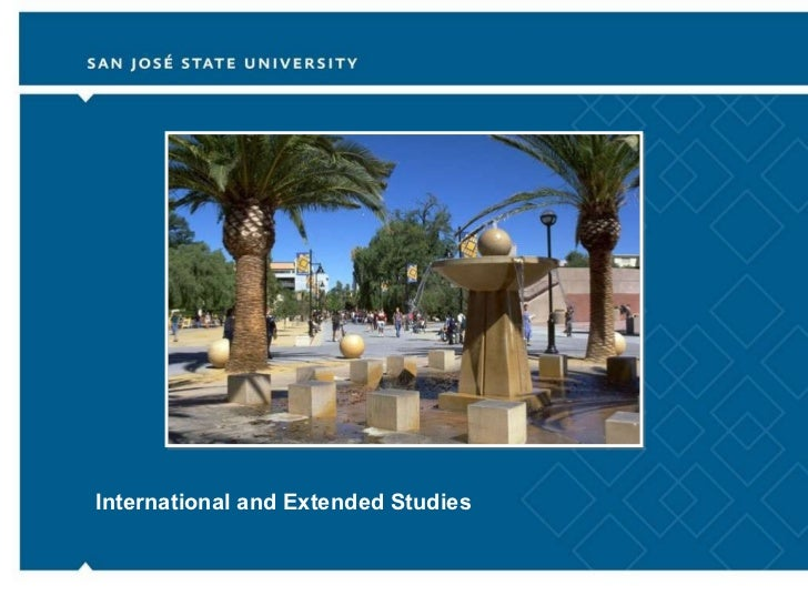 International and Extended Studies