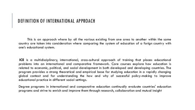 Undergraduate Study Abroad   Field Research   Semester ...