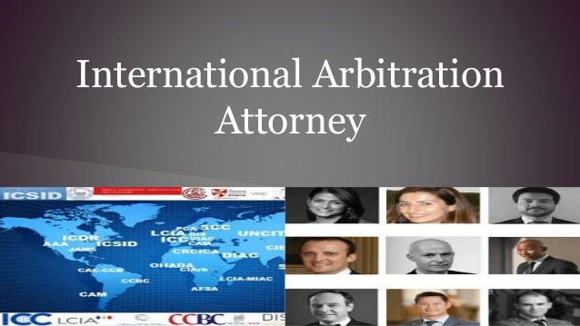 how to become an international arbitrator