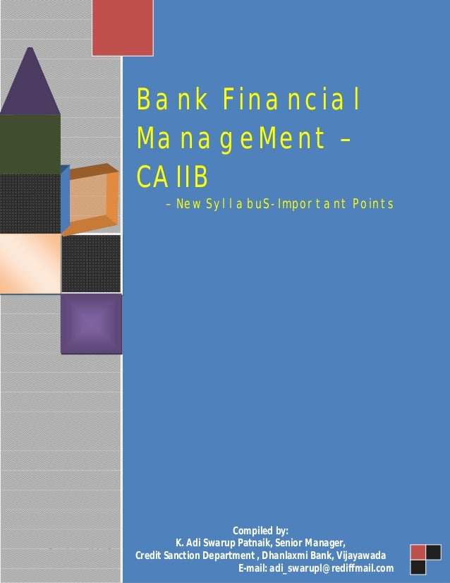 financial management syllabus