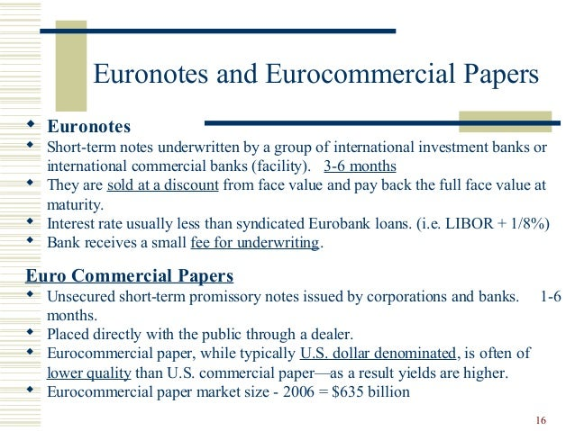 Short term commercial paper market fungal sterol synthesis