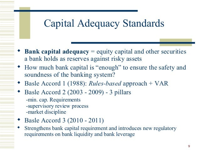 Capital Adequacy Cayman Islands