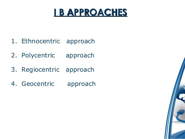 Business Approach