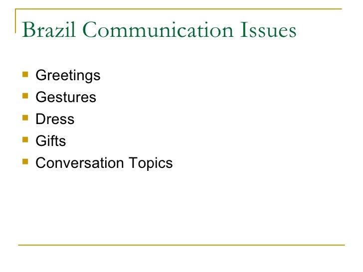 International business brazil slides brazil communication m4hsunfo