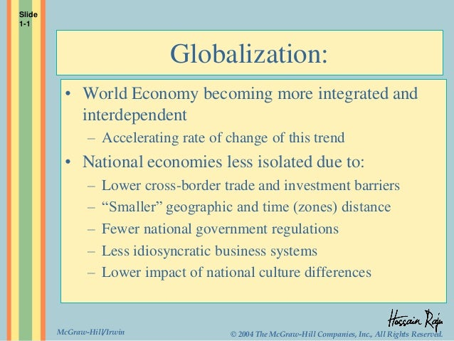 Does globalization affect growth