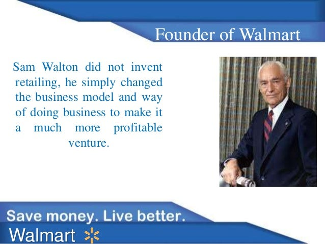 Internal Documents of Wal-Mart Stores, Inc.